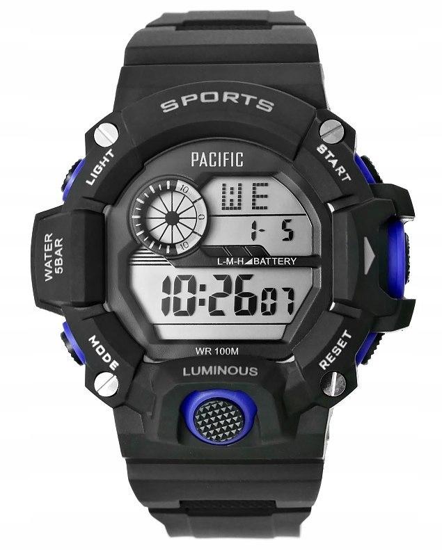 Zegarek Męski Pacific 340G-2 10 BAR Unisex Do PŁYW