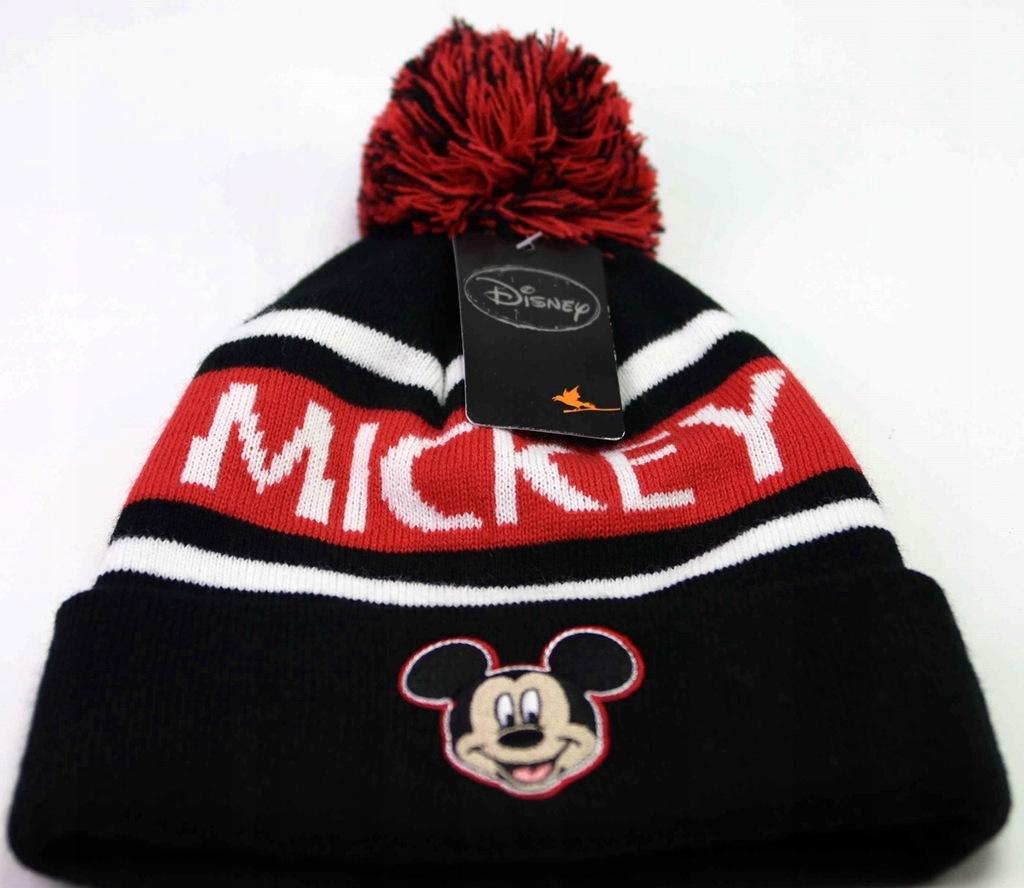 Disney MYSZKA MIKI MICKEY Czapka Zimowa Oryginał