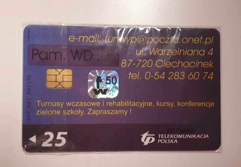 Karta chipowa komercyjna 20KDa RRR
