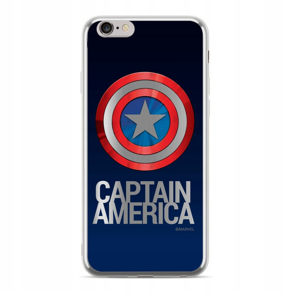 Futerał licencjonowany IPHONE X Kapitan Ameryka