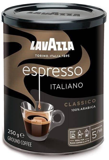 Lavazza Caffe Espresso 250 g kawa mielona w puszce