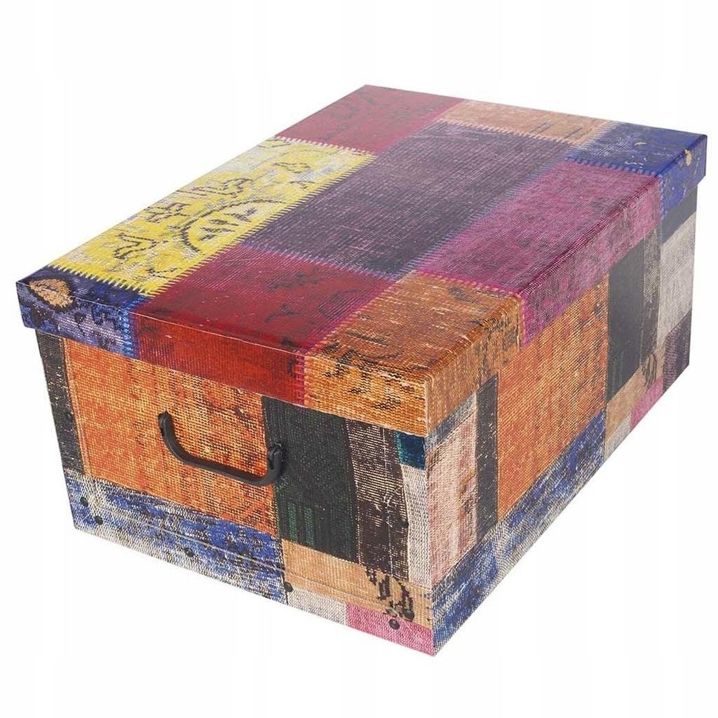 Pudełko kartonowe MAXI PATCHWORK - VINTAGE