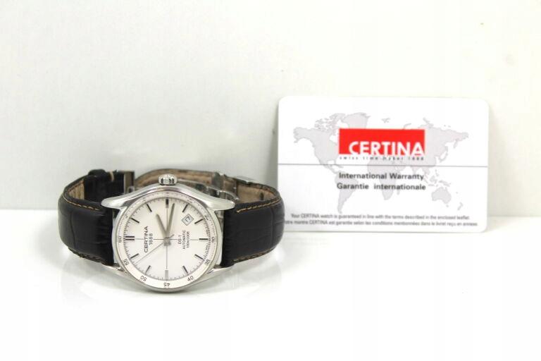 CERTINA C006407A +CERTYFIKAT