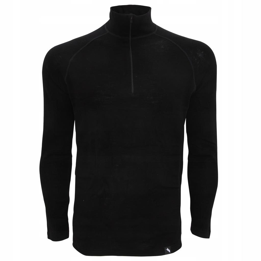 Trespass - męska bluzka termiczna top XXL Czarny