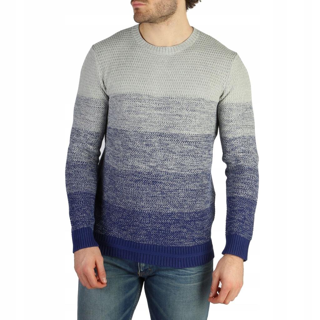 Sweter Męski Calvin Klein - J30J301234 - Szary L