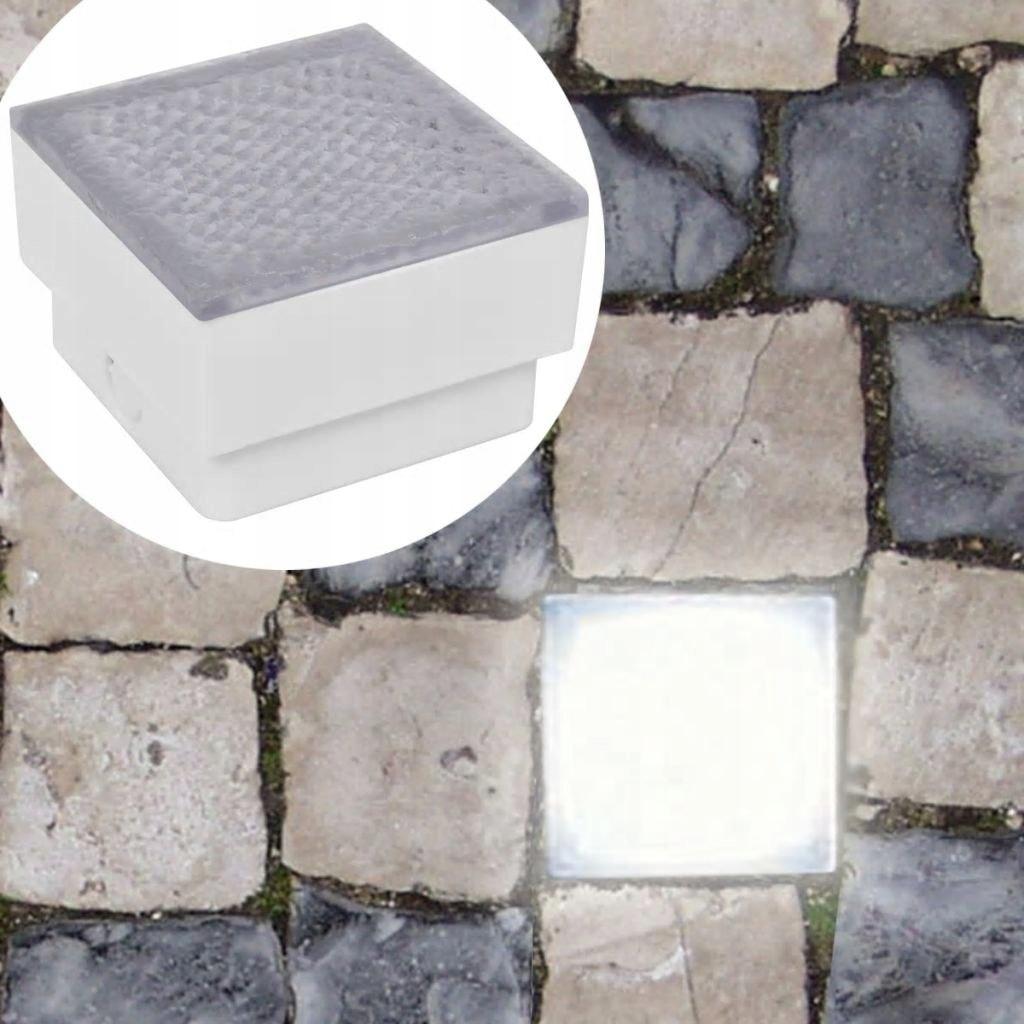 Światła najazdowe LED 6 szt 100x100x68 mm