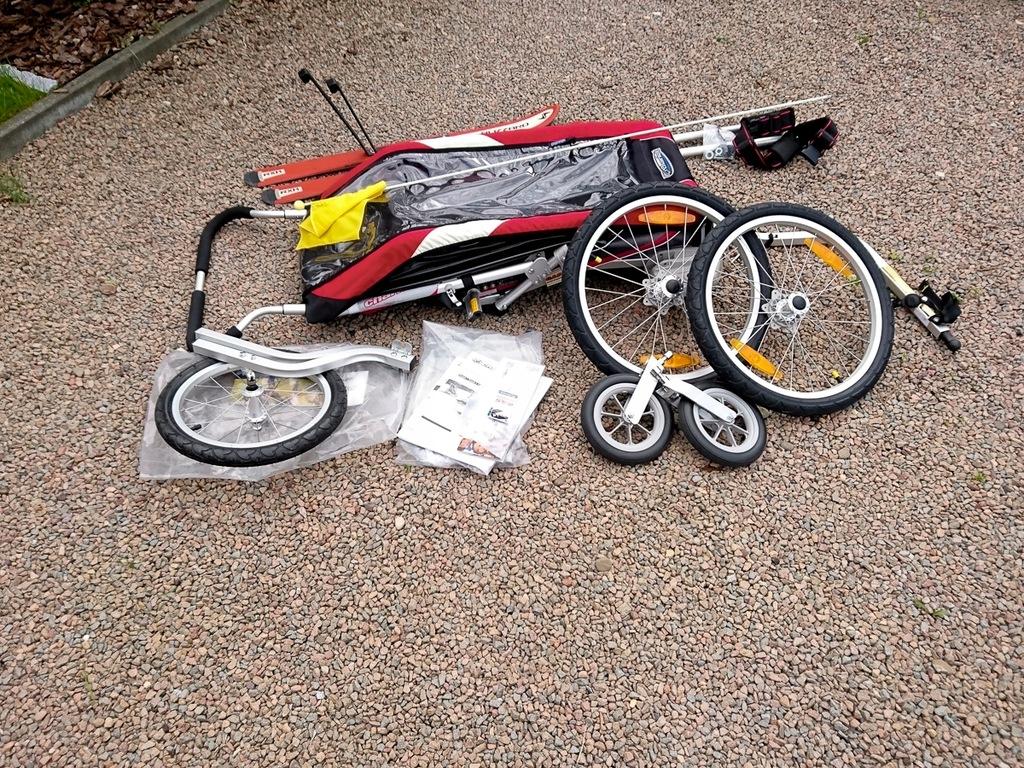 Przyczepka rowerowa Chariot Cougar 1 OKAZJA Thule