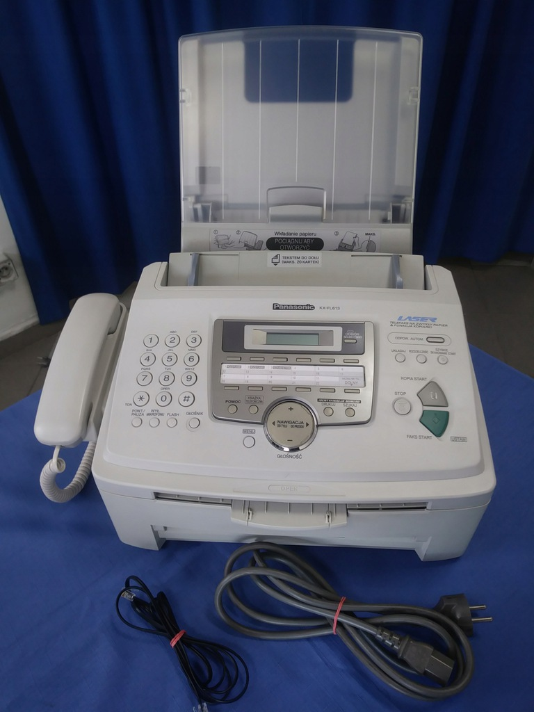 Faks laserowy Panasonic KX-FL613