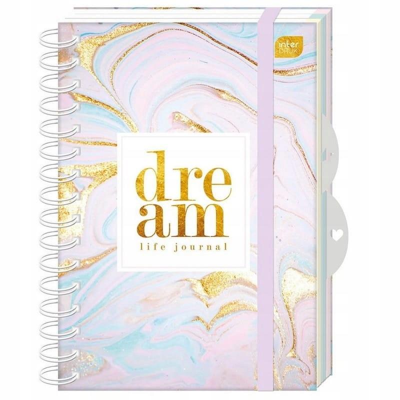Kołonotes A5 120k. Bullet Journal Dream Interdruk