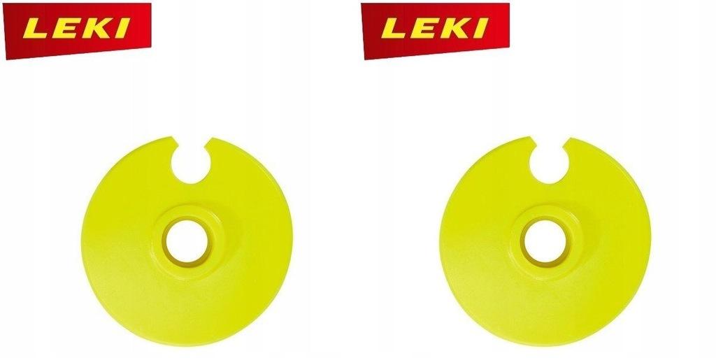 Talerzyki LEKI RACING SL YELLOW neon 856600112 2sz