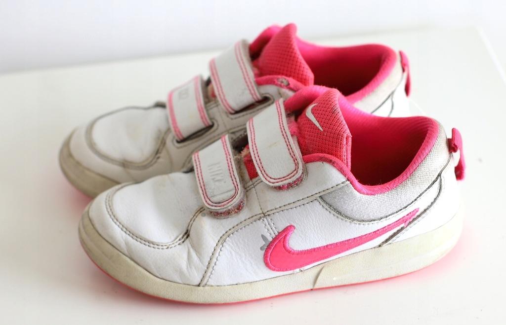 Nike buty buciki na rzepę skóra r 31 ,5