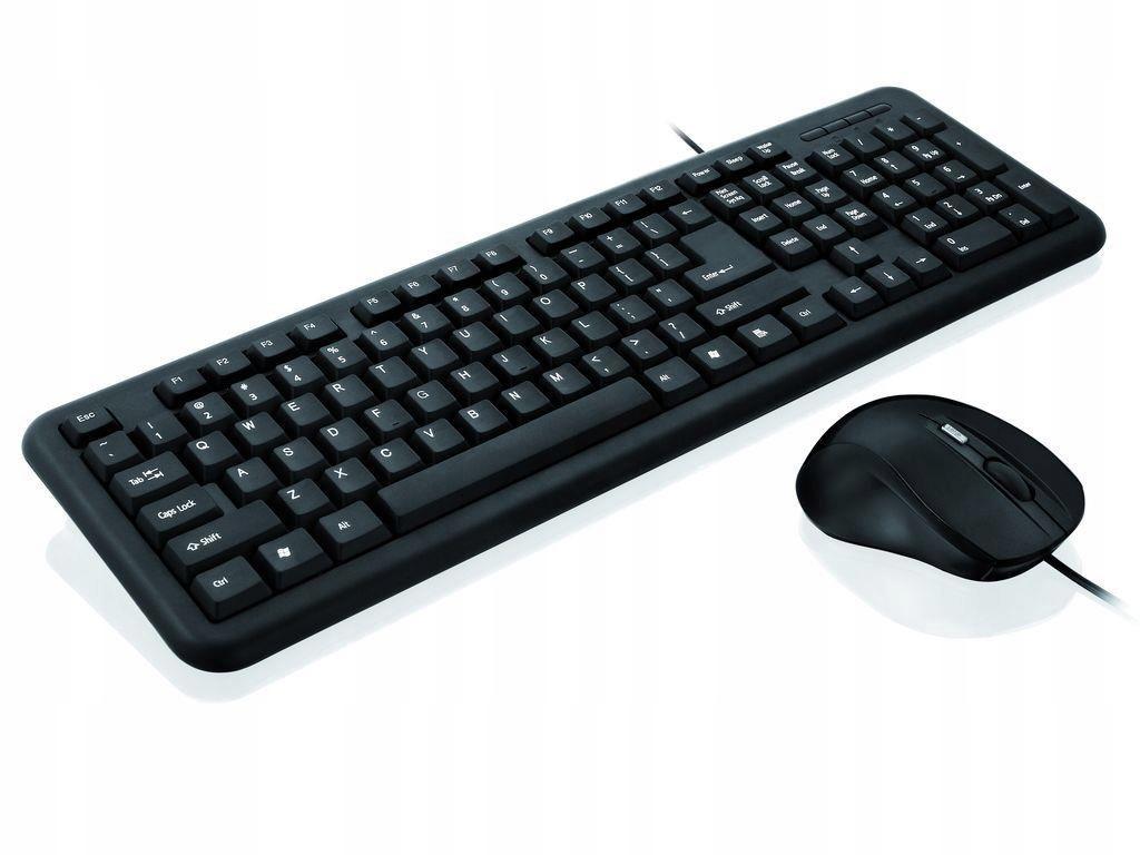 Zestaw przewodowy iBOX Office Kit II czarny