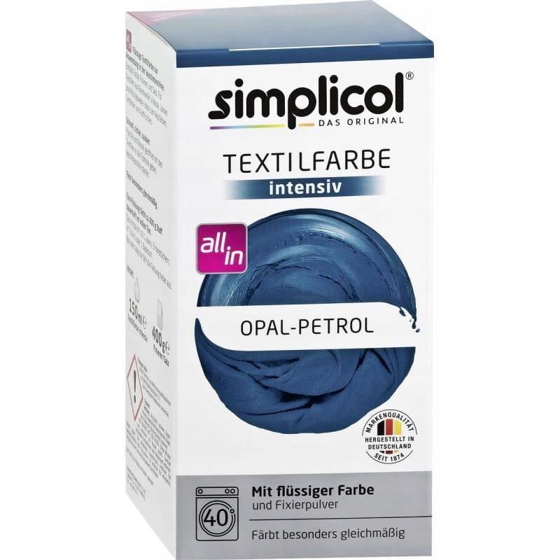 Opal-Petrol barwnik do tkanin Simplicol