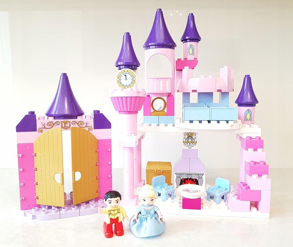 LEGO DUPLO Pałac Kopciuszka 6154 księżniczka zamek