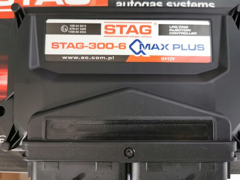 NOWY Komputer sterownik AC STAG 300-6 QMAX 6 PLUS
