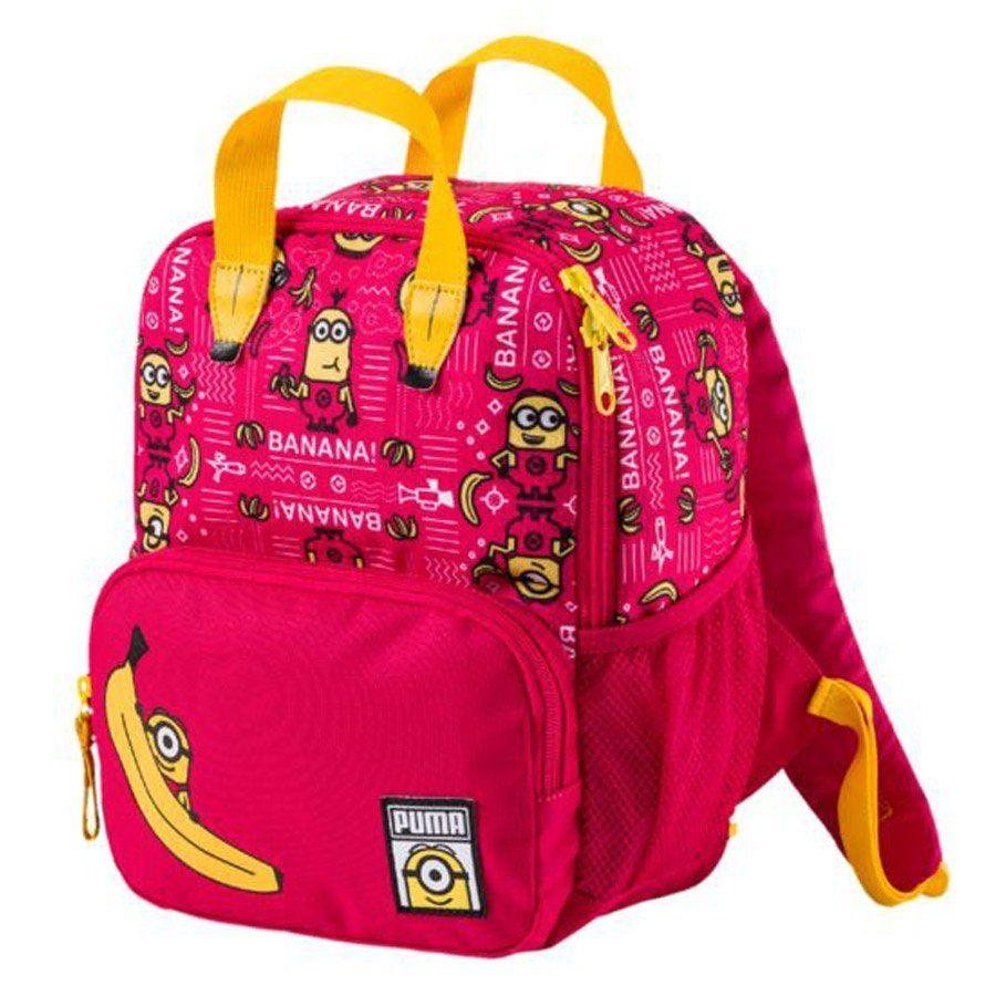 Plecak dziecięcy Puma Minionki czerwony 11 L