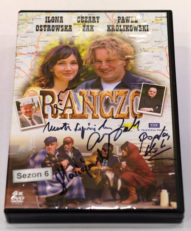 """DVD """"Ranczo"""" 6. Autografy"""