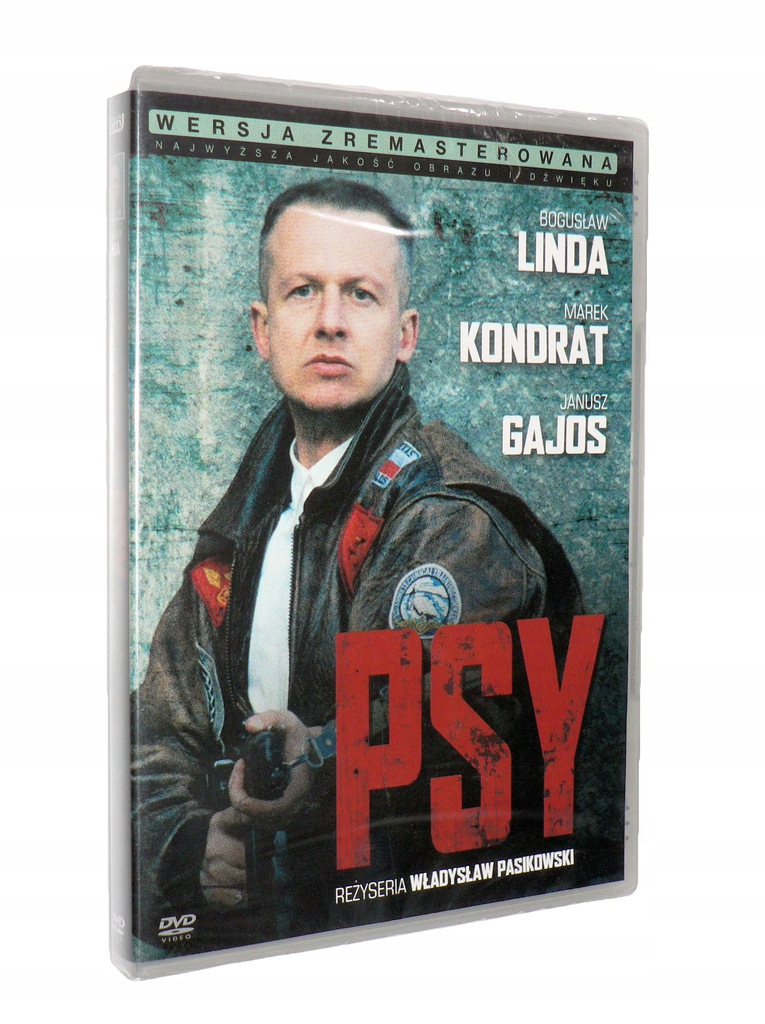 DVD - PSY(1992)- B.Linda, Marek Kondrat nowa folia