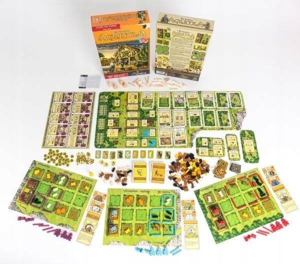 Agricola Wersja Dla Graczy Lacerta 205911 9513137869 Oficjalne Archiwum Allegro