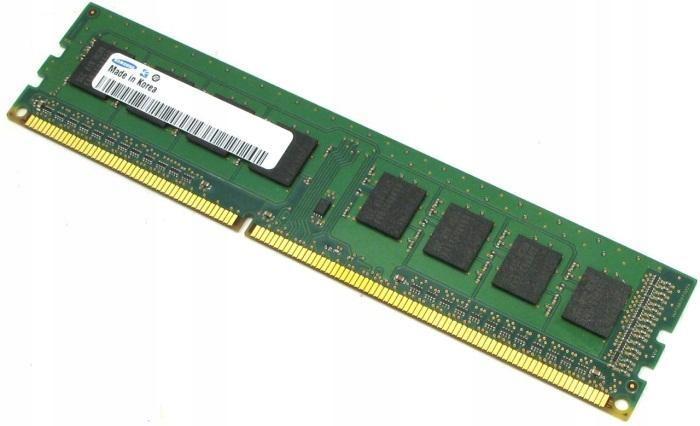 Pamięć RAM DDR3 8GB (1 x 8GB) PC3-12800U 1600 MHZ