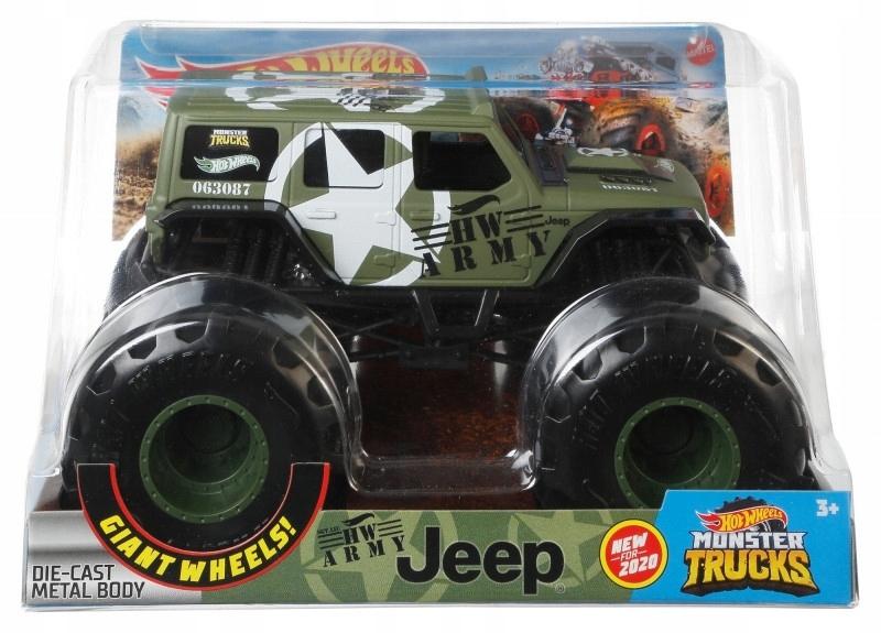 Hot Wheels Pojazd Monster Trucks GJG71