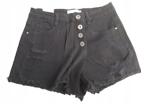Krótkie spódnico-spodenki Jeans na Guziki Daysie42