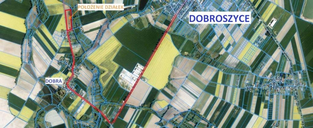 Działka, Dobra, Dobroszyce (gm.), 1490 m²