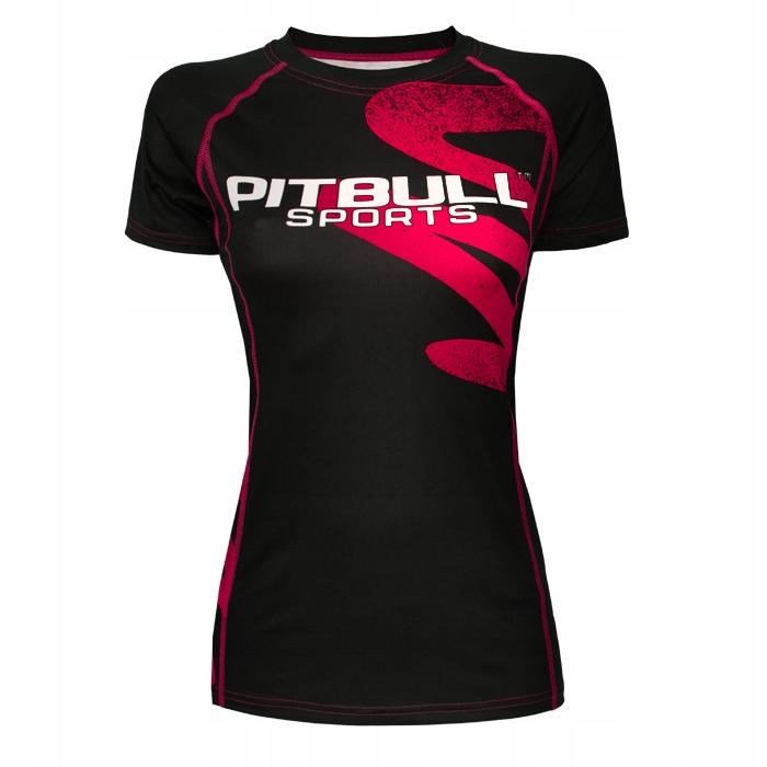 Pitbull Rashguard Damski ZigZag Różowy XL Pit bull
