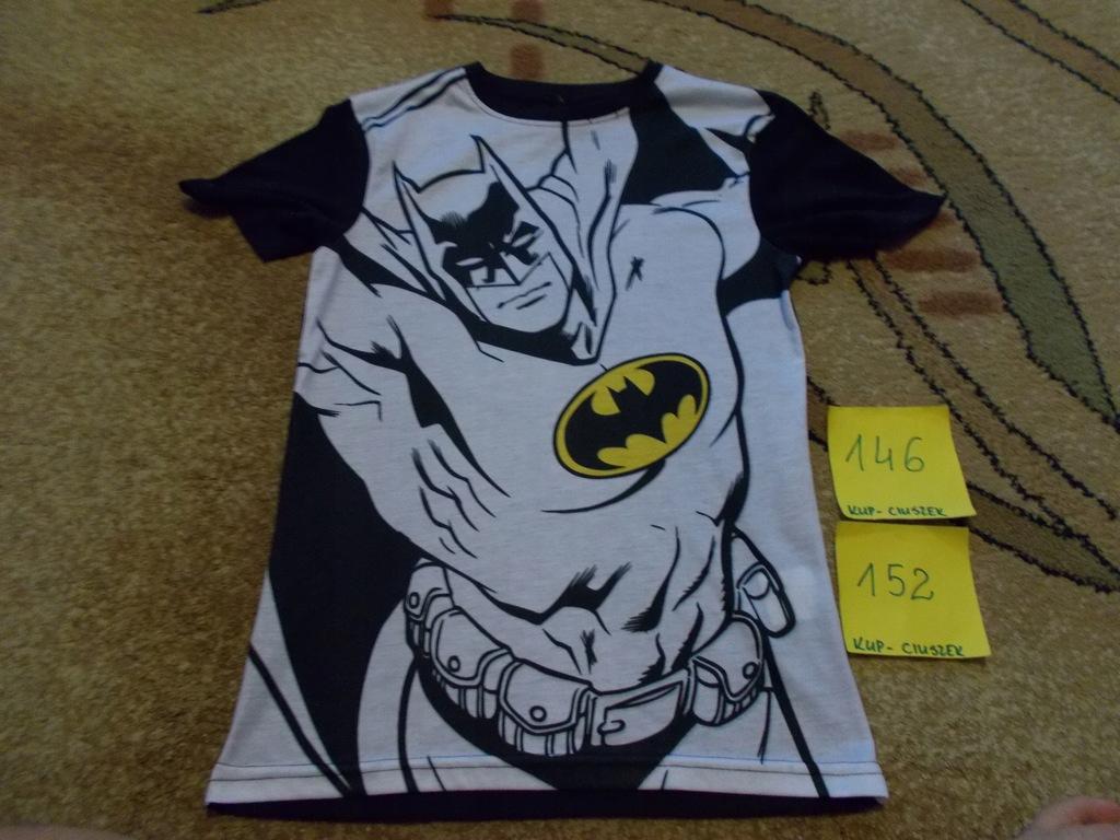 T-shirt chłopięcy w rozmiarze 146/152