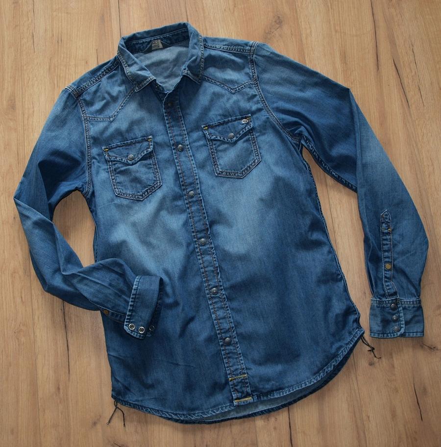DIESEL jeansowa koszula JEDYNA M