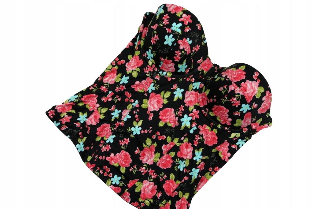 GORESET w kwiaty H&M 42C
