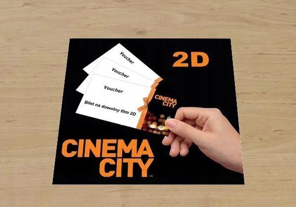 Cinema City voucher kod karta podarunkowa 20zł PLN
