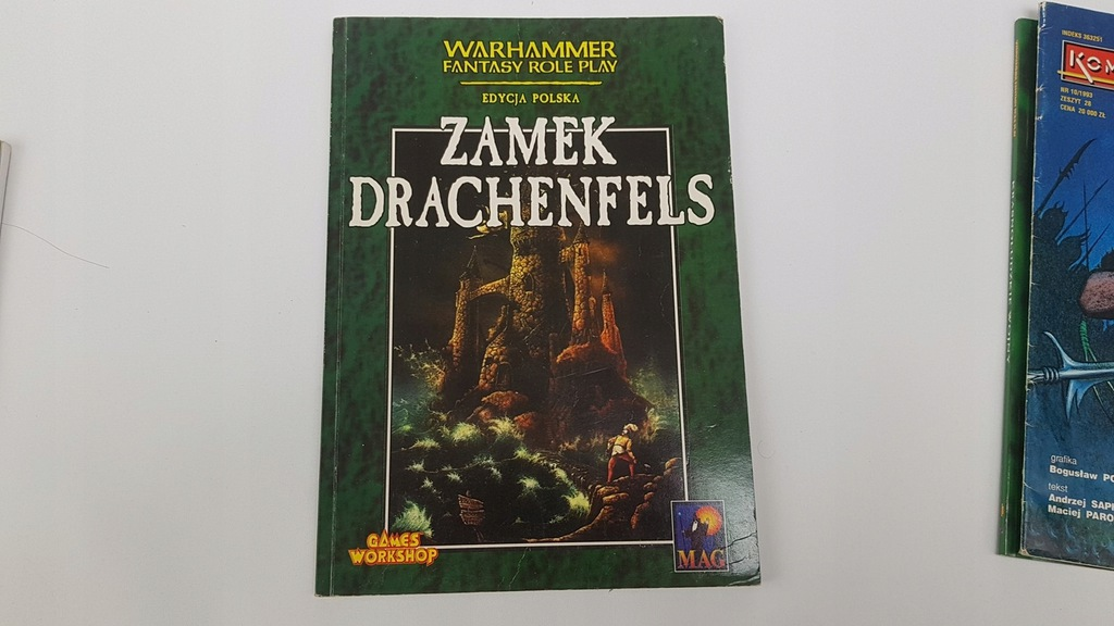 ZAMEK DRACHENFELS - WARHAMMER FANTASY FRP RPG