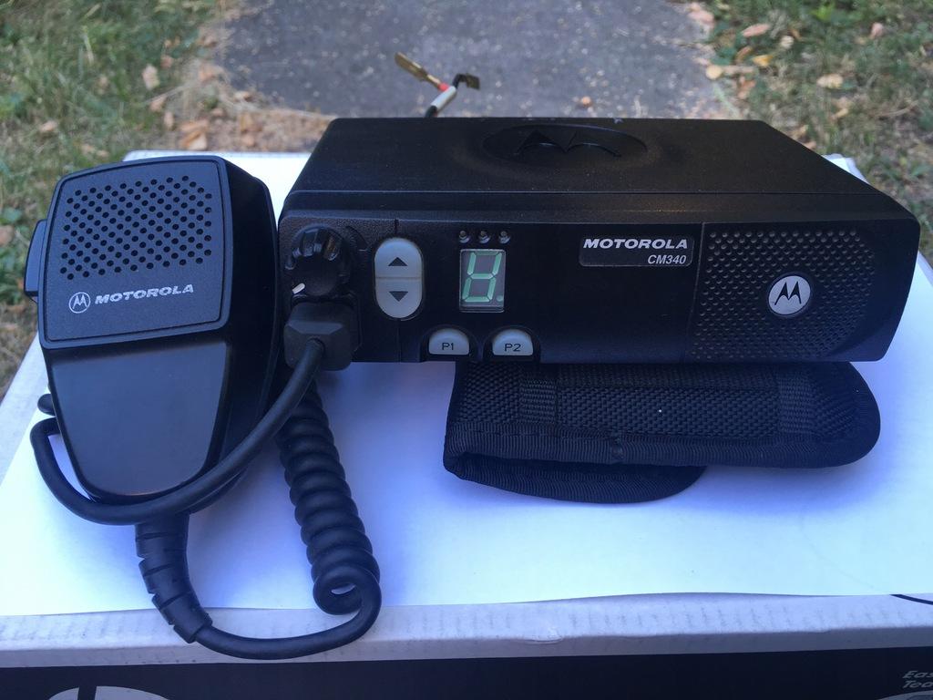 Motorola CM340 VHF 2m 146-174MHz TAXI, OSP