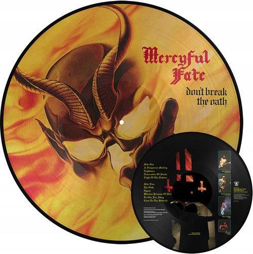 MERCYFUL FATE Don't Break The Oath PICTURE VINYL