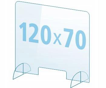 OSŁONA z pleksi ochronna PB szyba 4mm plexi 120x70