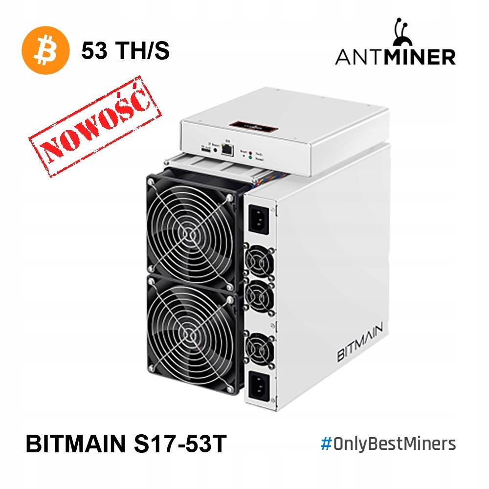 OD RĘKI! Bitmain Antminer S17 53TH OC 70TH!