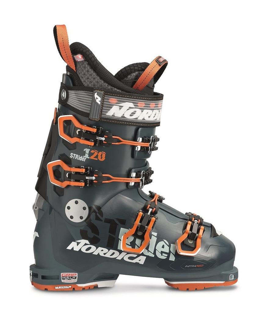 Buty narciarskie Nordica Strider 120 DYN Zielony 2