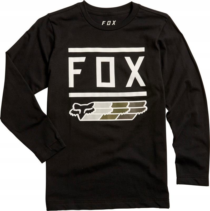 Koszulka Fox Junior Fox Super Black Yxl