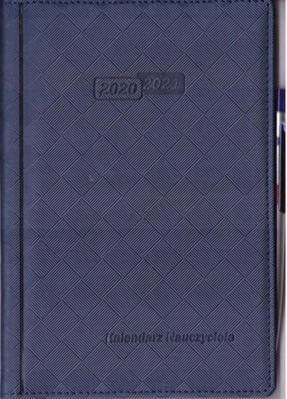 Kalendarz nauczyciela 2020/2021 granat WYPIÓR