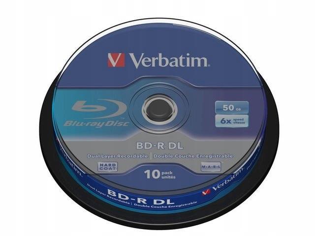 BD-R 6x 50GB 10P CB 43746