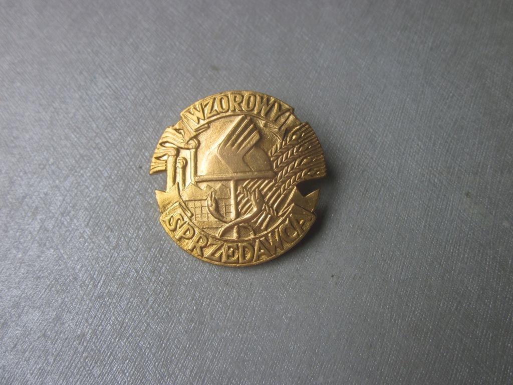 Odznaka Wzorowy Sprzedawca 4