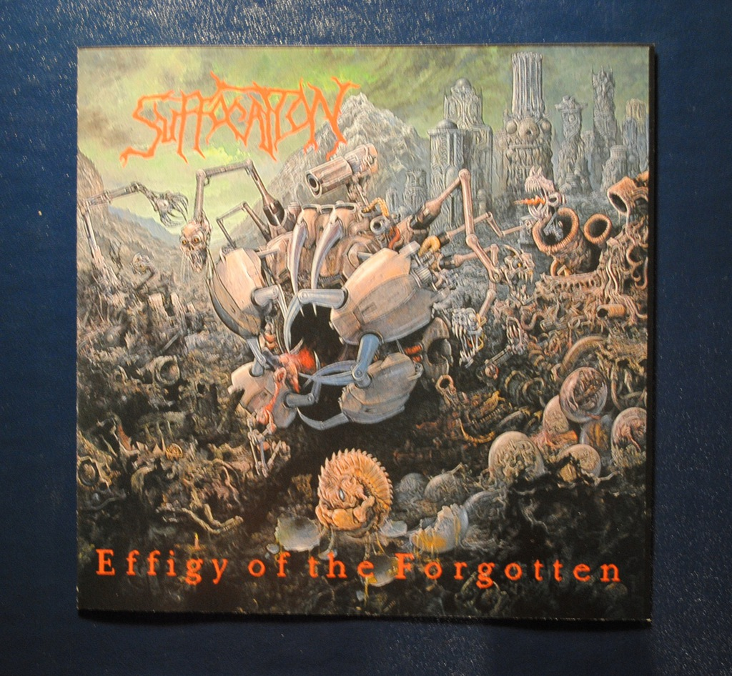 SUFFOCATION - EFFIGY OF THE FORGOTTEN ideał