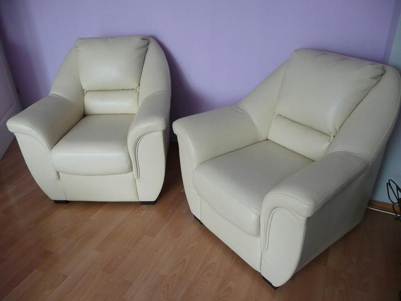 fotel uszak z podnóżkiem w bodzio