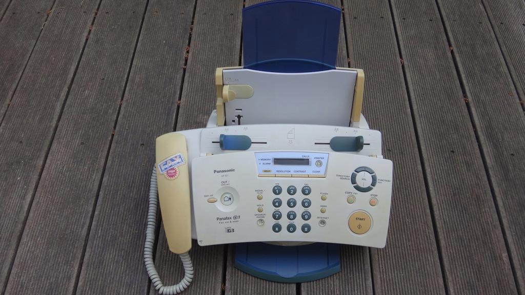 Fax Panasonic UF-E1 na A4