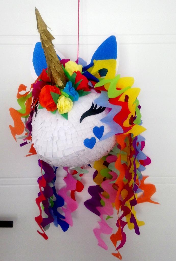 Piniata jednorożec urodziny prezent unicorn