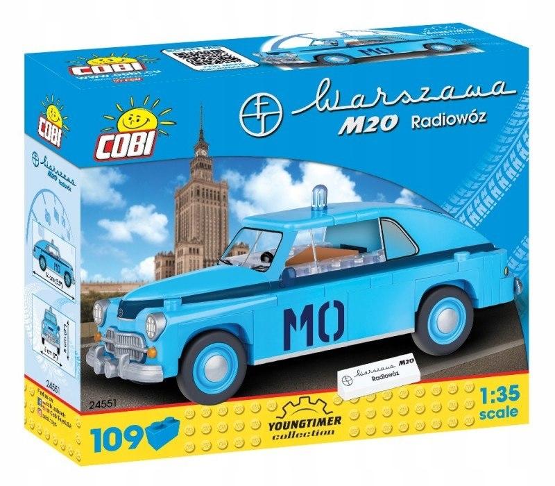 Klocki Youngtimer Collection - Warszawa M20 Radiow