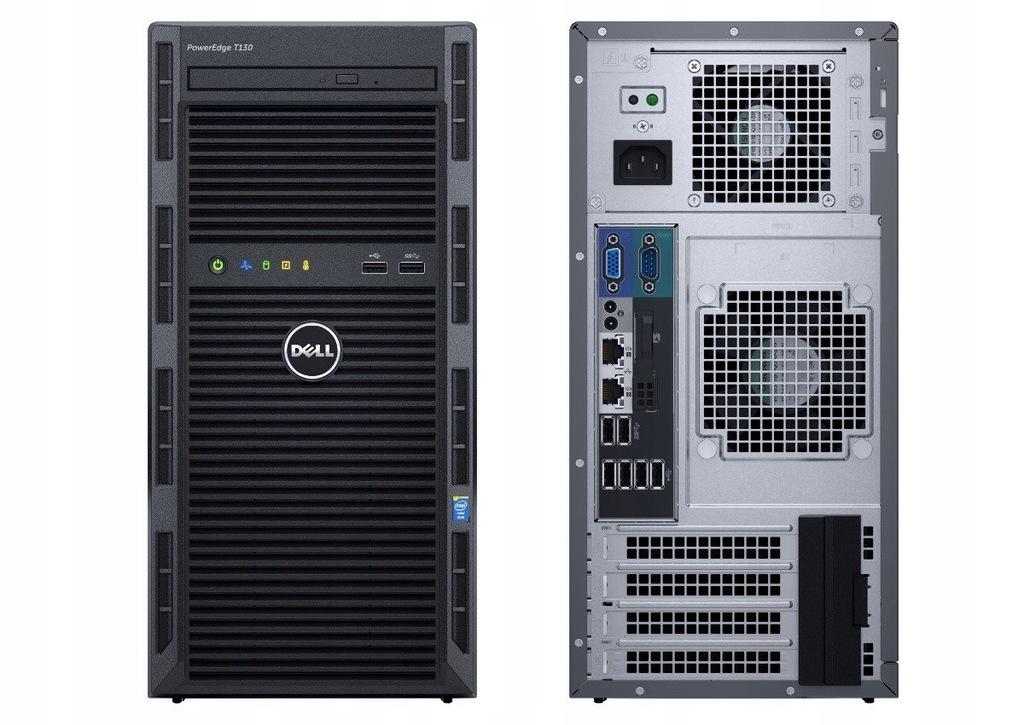 T130 E3-1220v6 8GB 2x1TB S130 DVDRW 3Y PET130PL1a