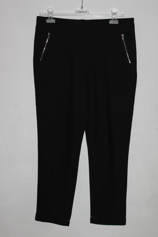 Reserved czarne eleganckie SPODNIE chinosy 40 L