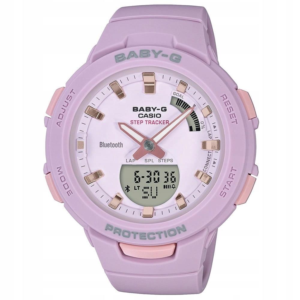 Zegarek damski Casio Baby-G BSA-B100-4A2